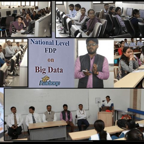 3 Days FDP on Bigdata & Hadoop @ Atmiya Institute of Technology and Science,Rajkot