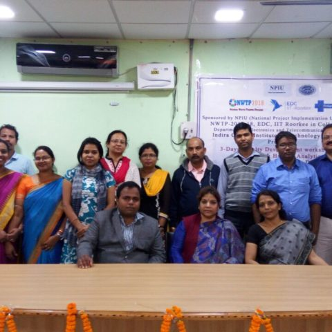 3 Days FDP on Big Data Analytics at Indira Gandhi Institute of Technology(IGIT),Sarang