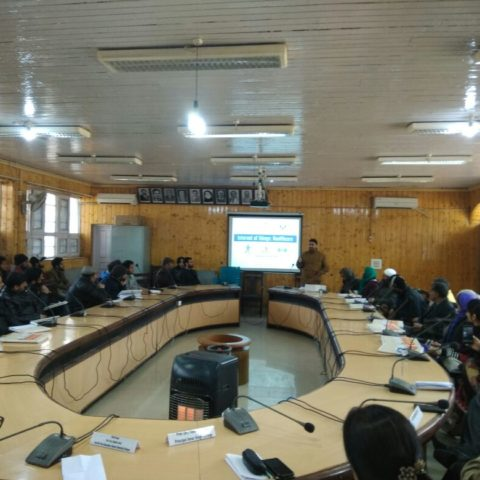 1 Week FDP on IOT using Arduino at Amar Singh College,Srinagar